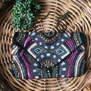 Handbags - Beautiful Beaded Clutch